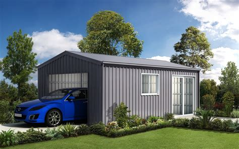 Car Shed by Steel Garages And Sheds For Sale Ranbuild