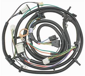 Forward Lamp Wiring Harness  1976 Chevrolet Chevelle  El