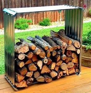 9, Super, Easy, Diy, Outdoor, Firewood, Racks