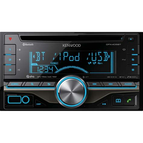 kenwood doppel din kenwood dpx 405bt din car stereo with bluetooth usb ipod android ebay