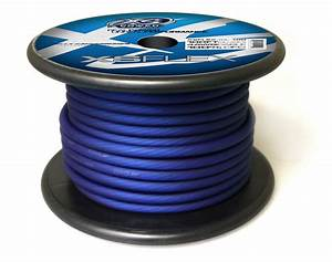 Xs Flex Blue 4 Awg Cable