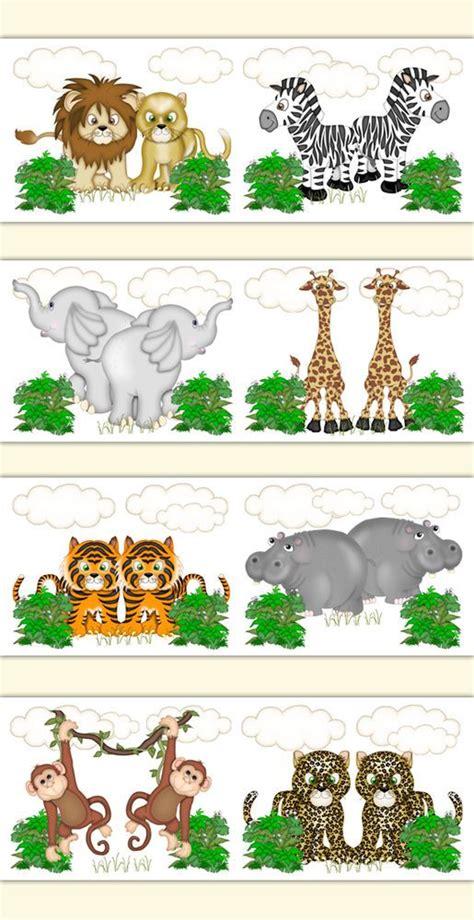 Zoo Animal Wallpaper Borders - animal wallpaper zoos and nursery on