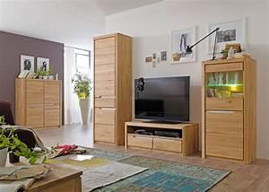 Wohnzimmer Eiche Massiv : wohnzimmer pisa 44 eiche bianco massiv 4 teilig wohnwand wohnm bel wohnbereiche wohnzimmer ~ Markanthonyermac.com Haus und Dekorationen