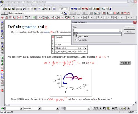 scientific notebook file extensions