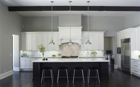 black  white kitchen cabinets contemporary kitchen