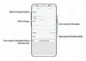Tutorial Manage Contacts On Galaxy S8