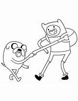 Jake Finn Adventure Coloring Fist Bump Cartoon Pages Lumpy Sky Coloringsky sketch template