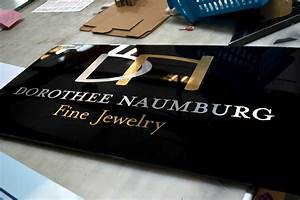 high end custom upgrades that get your business signs noticed With metallic vinyl lettering