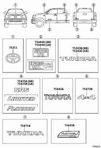 Toyota Tundra Tailgate Emblem