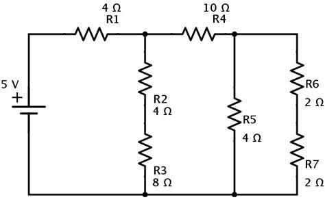 Resistors Series Parallel Combination Networks