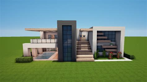 Moderne Häuser Minecraft by Moderne Minecraft H 228 User Wolkenkratzer Modernes Haus Best