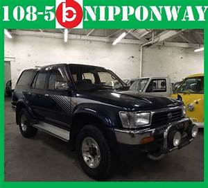1992 Toyota Hilux Surf 4wd Turbo Diesel Jdm Direct