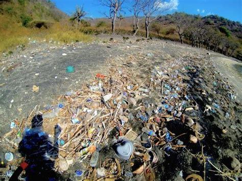 bali  komodo documenting plastic pollution