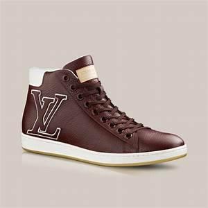 Sneakers Louis Vuitton Homme : surfside sneaker boot in grained calf via louis vuitton ~ Nature-et-papiers.com Idées de Décoration
