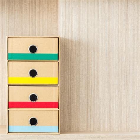 Möbel Aus Pappe Selber Machen by Schubladenbox Aus Pappe Selber Basteln 187 So Geht S