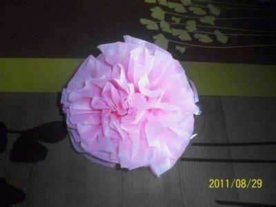 fleur en papier serviette fleur en serviette en papier de aure59122
