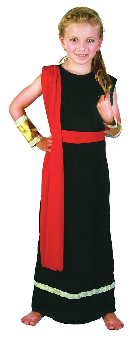 ROMAN GIRL/GREEK GODDESS BLACK TOGA GIRLS COSTUMES FANCY DRESS   eBay