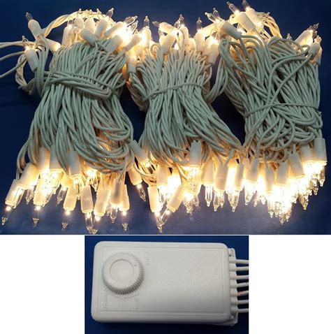 twinkling white christmas lights color change twinkle cascading and multi function