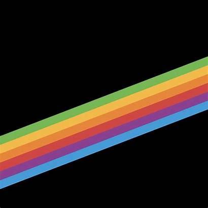 Iphone Wallpapers Ios Apple Rainbow Edge Retro