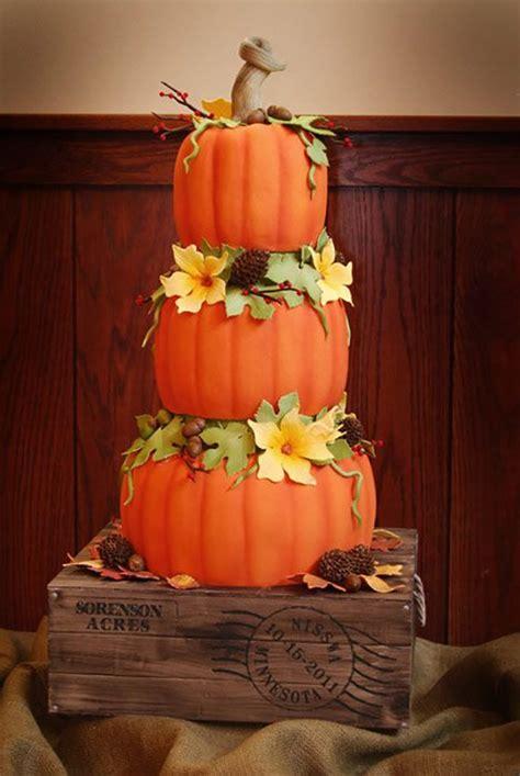 autumnal wedding cakes wedding ideas  colour chwv
