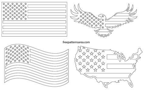 Usa, United States, American Flag Vector Images ...
