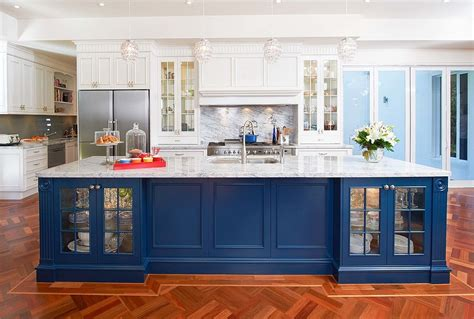 colorful kitchen island ideas  enliven  home
