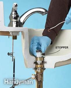 Unclog A Bathroom Sink Without Chemicals The Family Handyman