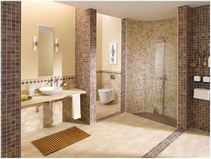 Fliesen Wand Bad : fliesen im badezimmer wie hoch hauptdesign ~ Markanthonyermac.com Haus und Dekorationen