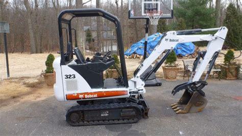 bobcat  mini excavator  hydraulic thumb  millstone nj  sale  united states