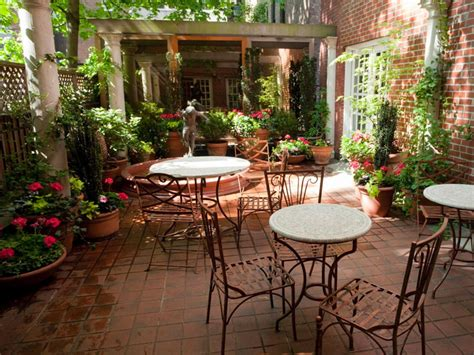 mediterranean garden patio freda hgtv