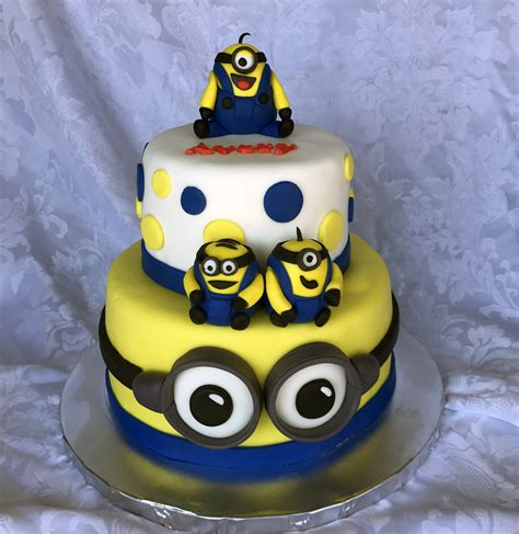 The minion cake pops are definitely my favorite out of the ones you made though! Minion Cake Story | Kay Cake Designs