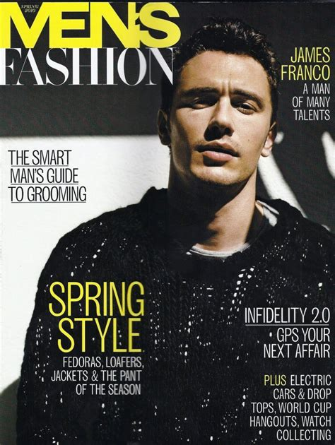 James Franco The Cover Model From Gq To Vogue