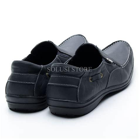 Sepatu Santai Bata Pria jual mantap sepatu kulit pria model santai 100 kulit asli