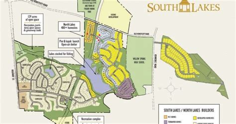 Community Map  The Official South Lakes & North Lakes New