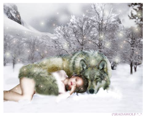 Sleeping Wolves_by_radawolf By Monstersandmaidens On