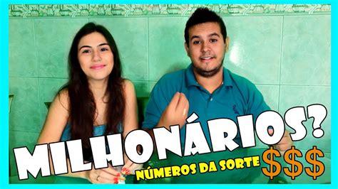 NÚMEROS DA SORTE | BISCOITINHO DA SORTE - YouTube