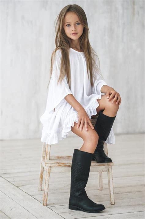 """kristina pimenova kristina pimenova la modelo de 8 años proclamada como """"la niña"""