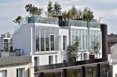 bureau de poste boulogne billancourt a vendre maison posée sur un toit d 39 immeuble vue