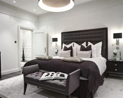 Bedroom Ideas Black White And Grey by Black And Grey Bedroom Home Design Ideas Pictures