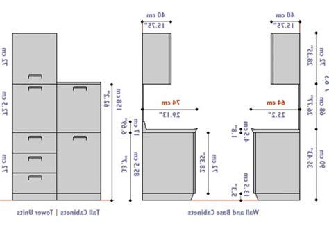 kitchen cabinet dimensions  besto blog