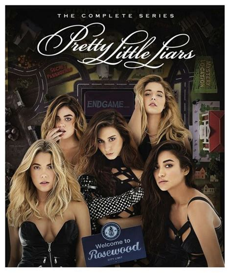 Pretty Little Liars: The Complete Series (DVD, 2017, 36 ...