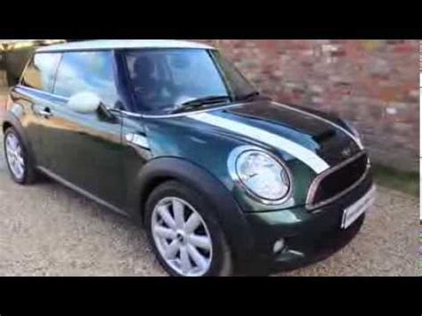 mini cooper  british racing green youtube