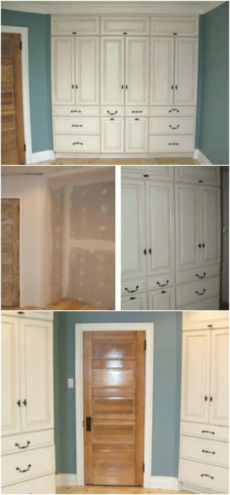 beautifully functional diy built  dressers  utilize