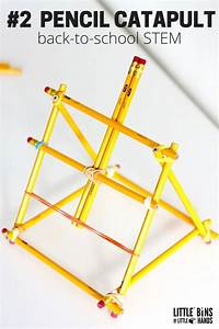 Popsicle Stick Catapult Design Ideas For Kids Stem Activities