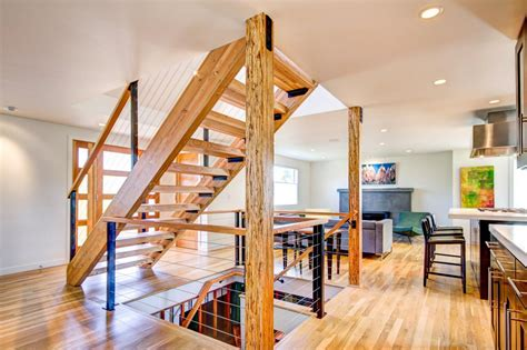 open space stairs asian living space photos hgtv