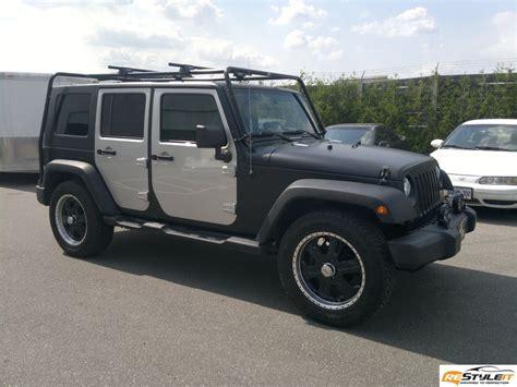 matte black jeep wrangler archives vinyl car wrap car wraps  toronto montreal fort
