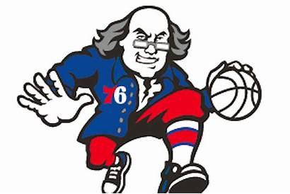 76ers Ben Franklin Philadelphia Dribbling Appear Founding