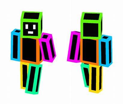 Neon Minecraft Skin Skins Superminecraftskins