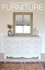 LiveLoveDIY: How To Paint Furniture: why it's easier than
