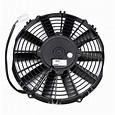 """SPAL 10"""" Low Profile Fan - Push, Straight"""